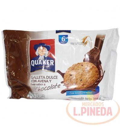 Galletas De Avena Y Chocolate X 30 G Paquete X 6