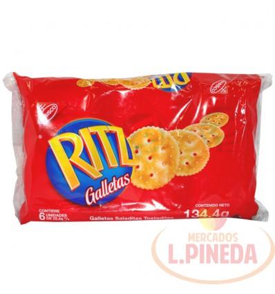 Galletas Ritz X 22.4 G Plain