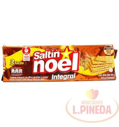 Galletas Saltin Noel 3 Tacos Integral X 415 G