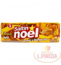 Galletas Saltin Noel 3 Tacos Queso Y Mantequilla