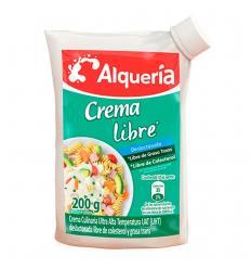 CREMA DE LECHE DESLAC. X 200 ALQUERIA
