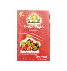 TE HINDU X 20 G FRUTOS ROJOS PASION