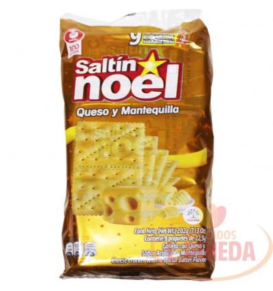 Galletas Saltin Noel Queso Y Mantequilla X 9 Un