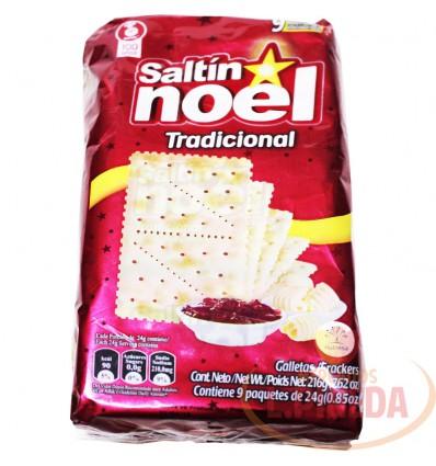Galletas Saltin Noel Trad.9 Unid