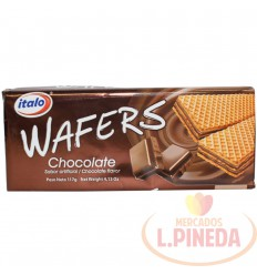 Galletas Wafers Italo Chocolate X 117 G