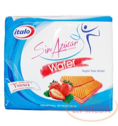 Galletas Wafers Italo Sin Azucar X 80 G