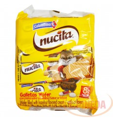 Galletas Wafers Nucita X 8 Paq X 160 G