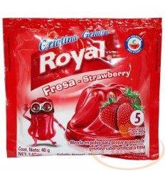 Gelatina Royal X 40 G Fresa Frutilla