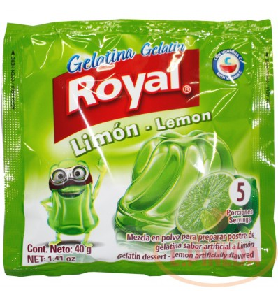 Gelatina Royal X 40 G Limon