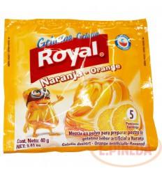 Gelatina Royal X 40 G Naranja