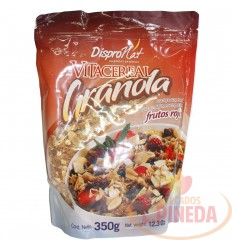 Granola Dispronat X 350 G Frutos Rojos