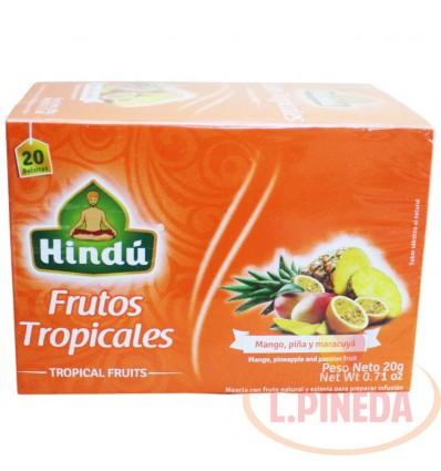 Aromaticas Hindú X 20 G Frutos Tropicales