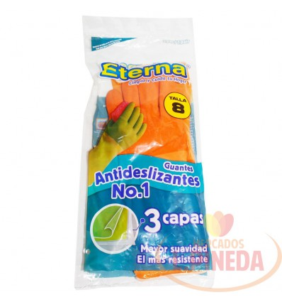 Guantes Eterna Anti Deslitalla 8 Super