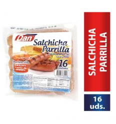 Salchicha Dan X 500 G Parrilla