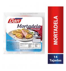 Mortadela Dan X 225 G Res 14 Unds