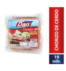 Chorizo De Cerdo Dan x10Und 450Gr