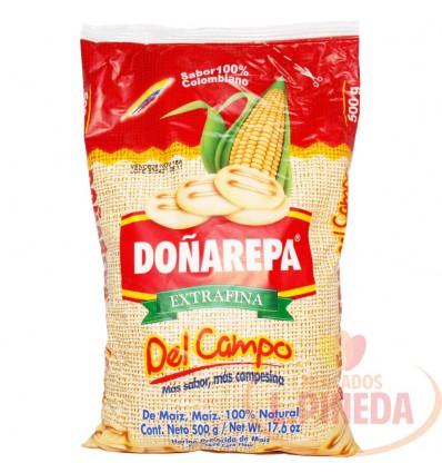 Harina De Maiz Doñarepa X 500 G Del Campo