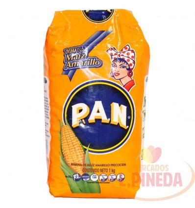 Harina De Maiz P.A.N X 1000 Amarilla