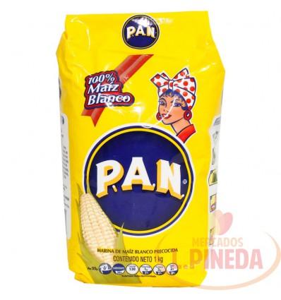 Harina De Maiz P.A.N X 1000 G Blanco