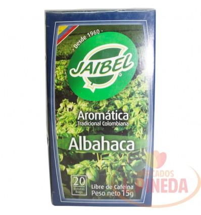 Aromaticas Jaibel Albahaca X 15 G