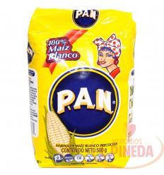 Harina De Maiz P.A.N X 500 G Blanco