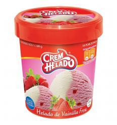 Helado Cream*600G Fresa