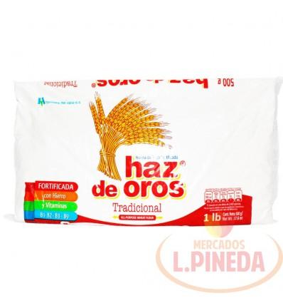 Harina De Trigo Haz De Oro X 500 G
