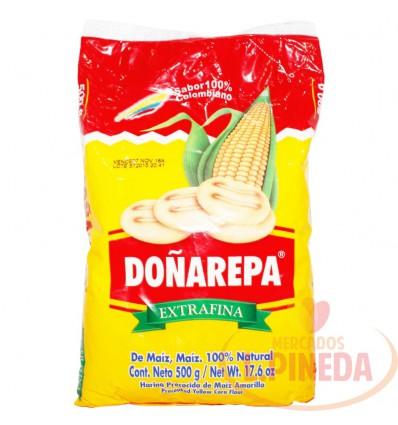 Harina Maiz Doñarepa X 500 Amarilla