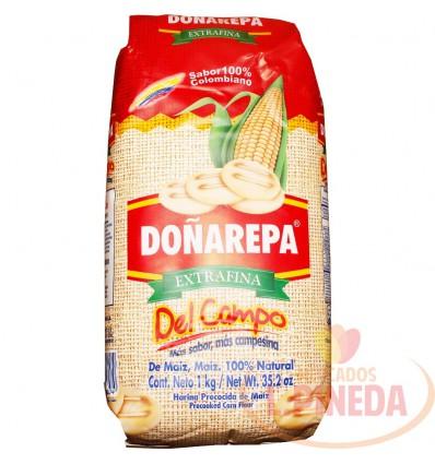 Harina Maiz Doñarepa 1000 G Campo