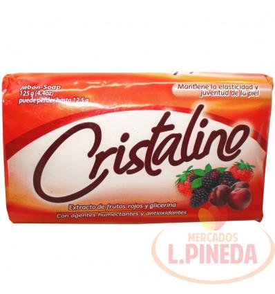 Jabon Baño Cristalino X 150 G Frutos Rojos