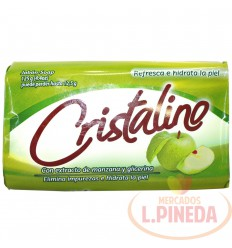 Jabon Baño Crsitalino X 125 G Manzana Y Glicerina