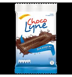 Chocolate Choco Lyne X 108 G 18 Und Sin Azucar