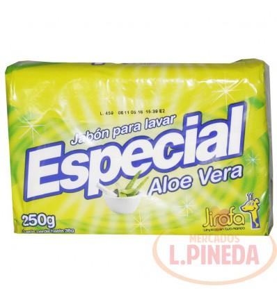 Jabon Barra Especial X 250 G Aloe Vera