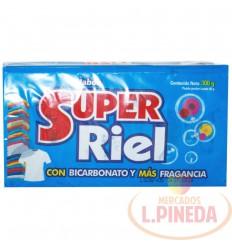 Jabon Barra Super Riel Con Bicarbonato X 300 G