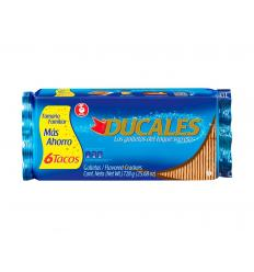 Ducales X 6 Tacos