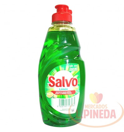 Lavaplatos Salvo X 300 ML Limon