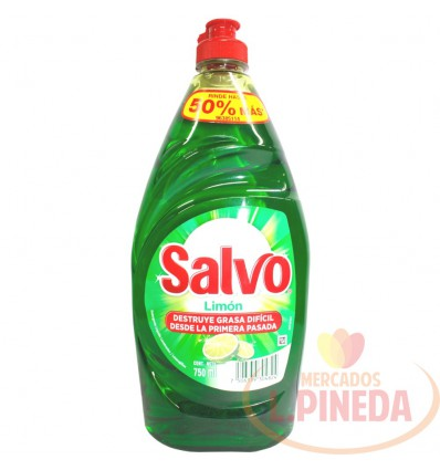 Lavaplatos Salvo X 750 ML Liquido