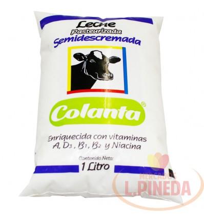 Leche Colanta X 1000 ML Liquida Semisdescremada