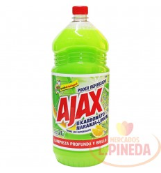 Limpiador Ajax Bicarbonato X 2l Naranja-Limon