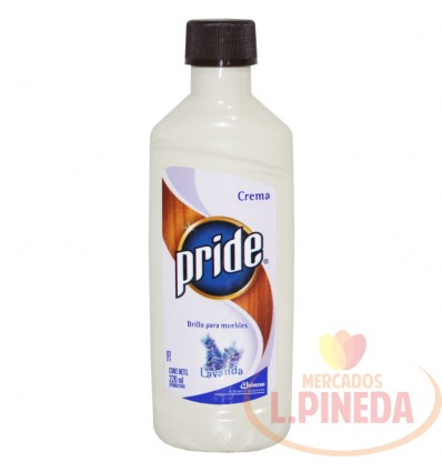 Limpiador Para Muebles Pride Crema X 220 ML