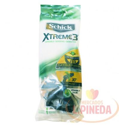 Maquina Afeitar Schick Xtreme 3 Sensible