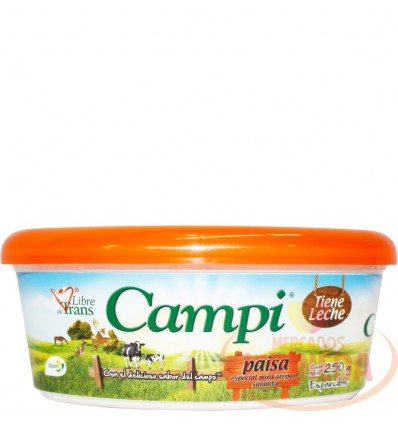 Margarina Campi X 250 G Paisa