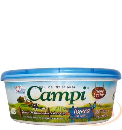 Margarina Campi X 500 G Light