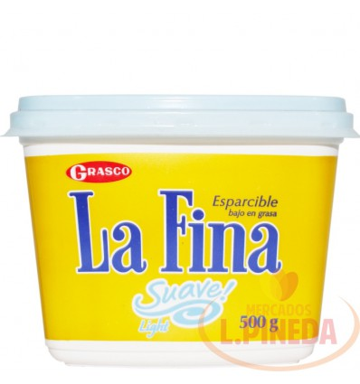 Margarina La Fina Suave X 500 G Light