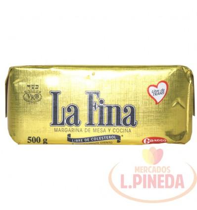 Margarina La Fina X 500 G
