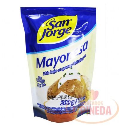 Mayonesa X 200 G San Jorge