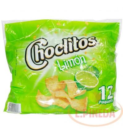 Mecato Choclitos X 30 G Limon Paquete X 12