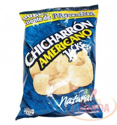 Mecato Jack's Chicharron X 115 G Natural