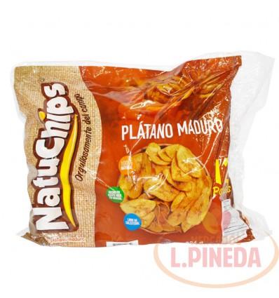 Mecato Natuchips Platano Maduro X 28 G X 12