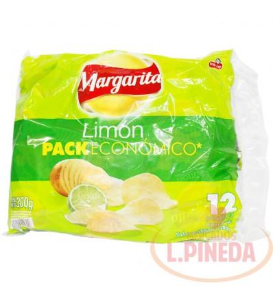 Mecato Papitas Margarita X 25 G Limon X 12